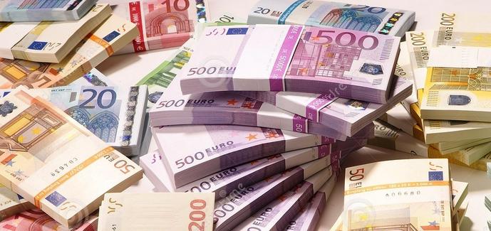 Euro naudas kaudze