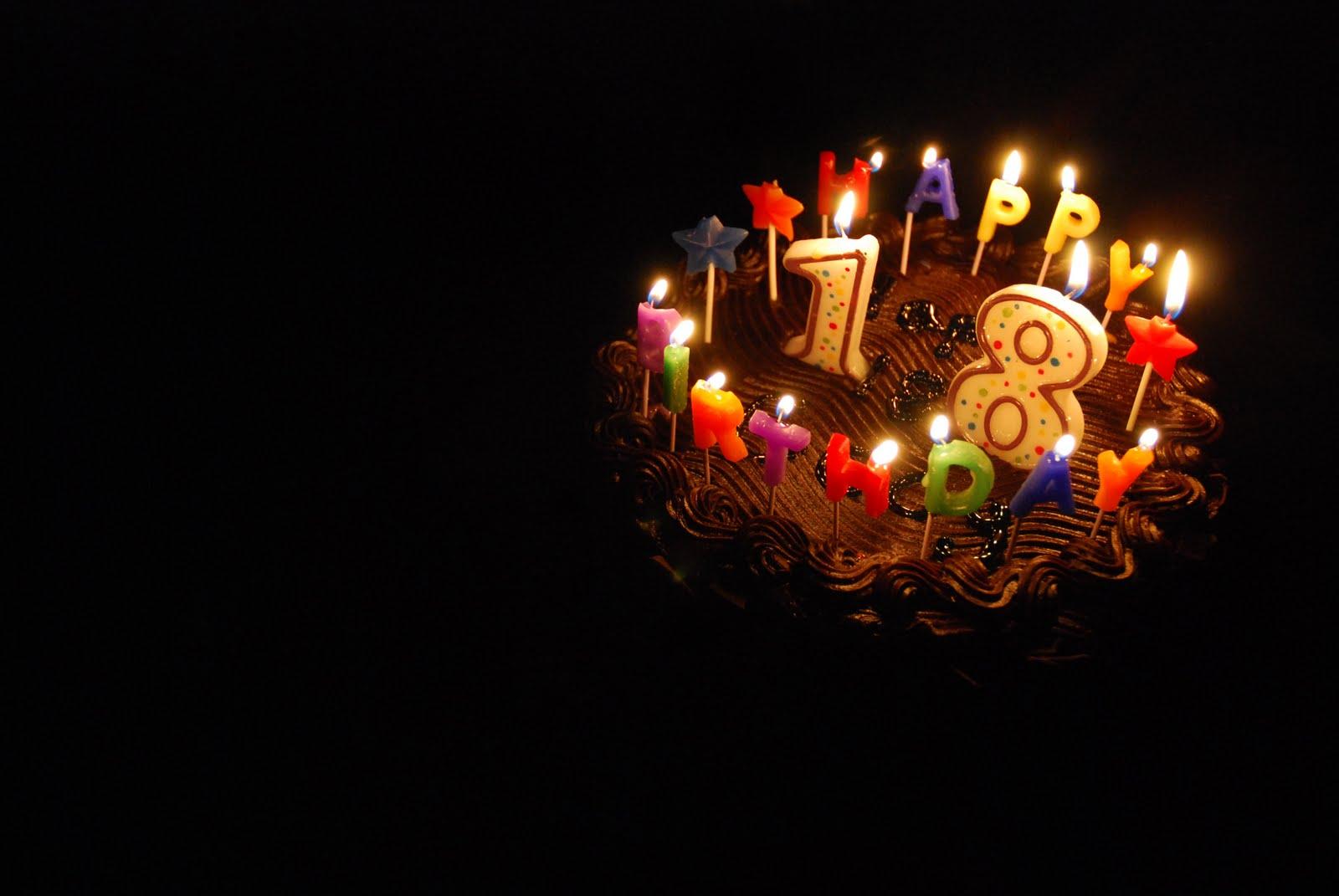 Открытка с днем рождения молодому человеку 18 лет, днем