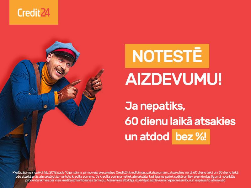 Credit24 popup banneris